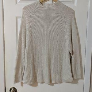 💎2/$20 Off white mock neck sweater